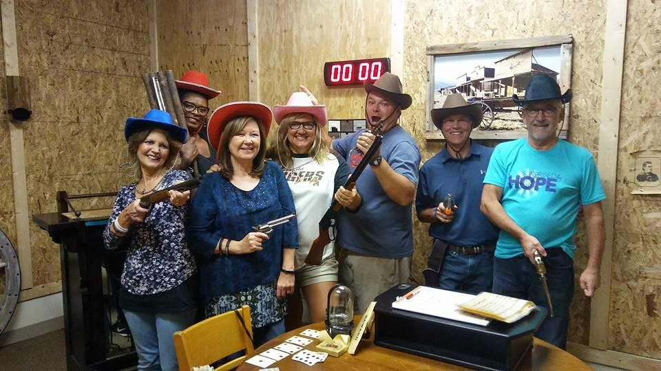 The Wild Wild West Room Mind Maze Escape Room