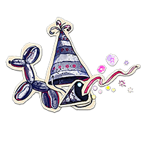 party hat escape room kit kids